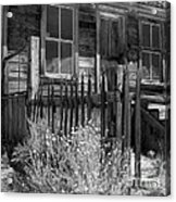 Front Porch Bodie Ghost Town California Acrylic Print