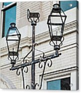 Front Street Lamp Acrylic Print by Brenda Bryant