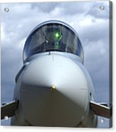 Front View Of A Eurofighter Typhoon Acrylic Print