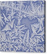 Frost On A Window Acrylic Print