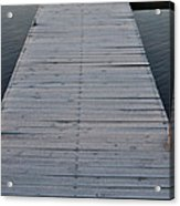 Frosted Dock Acrylic Print