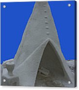 Frosted Tee Pee Acrylic Print