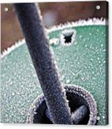 Frosty Metal Acrylic Print
