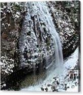 Frozen Narada Falls Acrylic Print
