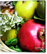 Fruit Basket Acrylic Print