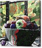 Fruit In Autumn Acrylic Print