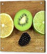 Fruit Mix Acrylic Print