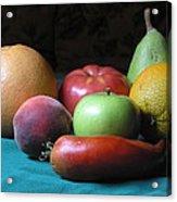 Fruit On The Porch Acrylic Print