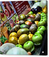 Fruit Stand Acrylic Print