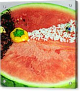 Fruits Depicting Kepler's Law Acrylic Print