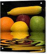 Fruity Reflections Acrylic Print