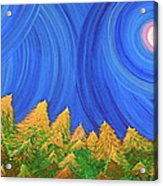 Full Moon Forest By Jrr Acrylic Print