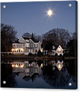 Full Moon Over Babylon Acrylic Print