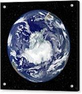 Fully Lit Full Disk Image Centered Acrylic Print by Stocktrek Images