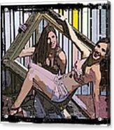 Fun In A Frame Acrylic Print