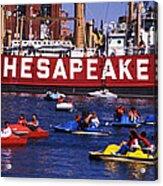 Fun On Chesapeake Bay Acrylic Print