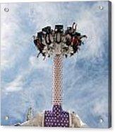 Funfair Ride Acrylic Print