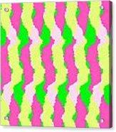 Funky Stripes Acrylic Print