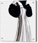 Fur Coat Acrylic Print