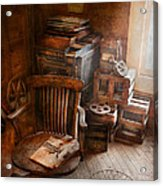 Furniture - Chair - The Engineers Office Acrylic Print