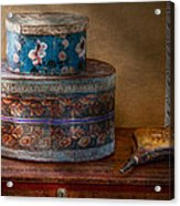 Furniture - Hat Boxes With Billow Acrylic Print