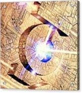 Future Computing, Conceptual Image Acrylic Print