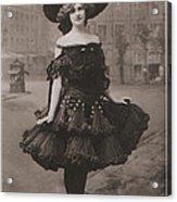 Gabrielle Ray Ca.1905 Acrylic Print