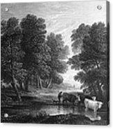 Gainsborough: Scenic View Acrylic Print