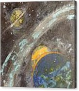 Galactic Dust Acrylic Print