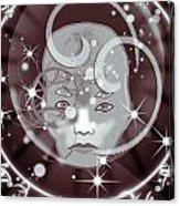 Galactic Face Acrylic Print