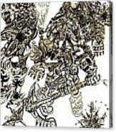 Galactic Warriors Acrylic Print