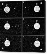 Galileo's Jovian Moon Observations, 1610 Acrylic Print