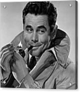 Gallant Journey, Glenn Ford, 1946 Acrylic Print by Everett