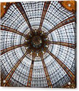Galleries Laffayette Paris France Acrylic Print