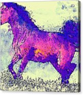 Galloping Grace Acrylic Print