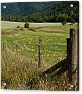 Galls Creek Farm Scene Acrylic Print