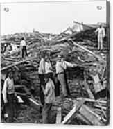 Galveston Disaster - C 1900 Acrylic Print