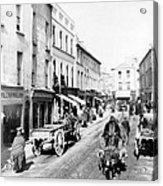 Galway Ireland - High Street - C 1901 Acrylic Print