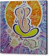 Ganesh Vandan Acrylic Print