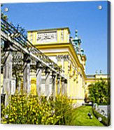 Garden Entry Wilanow Palace - Warsaw Acrylic Print