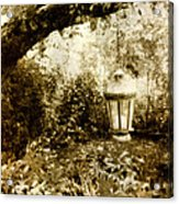 Garden Lantern Acrylic Print