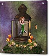Garden Lanturn Acrylic Print