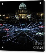 Garden Lights Fest Botanical Garden Richmond Va Acrylic Print