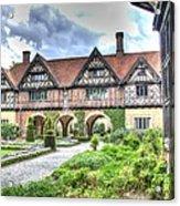 Garden Of Cecilenhof Palace Germany Acrylic Print