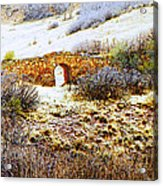 Garden Of The Gods - Bridge Panorama Acrylic Print