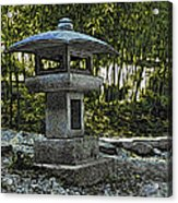 Garden Pagoda Acrylic Print