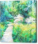 Garden Path Acrylic Print