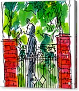Garden Philadelphia Acrylic Print