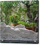 Garden Repose Acrylic Print