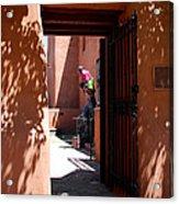 Garden Sculptures Museum Of Art In Santa Fe Nm Acrylic Print